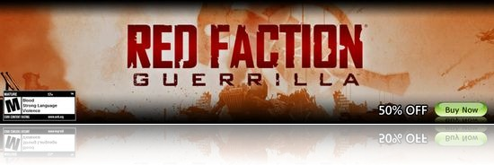 Red Faction Guerilla 50% off