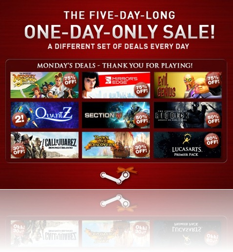 Day Five Holiday Sale