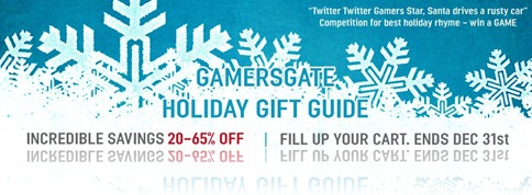 GamersGate Holiday Gift Guide