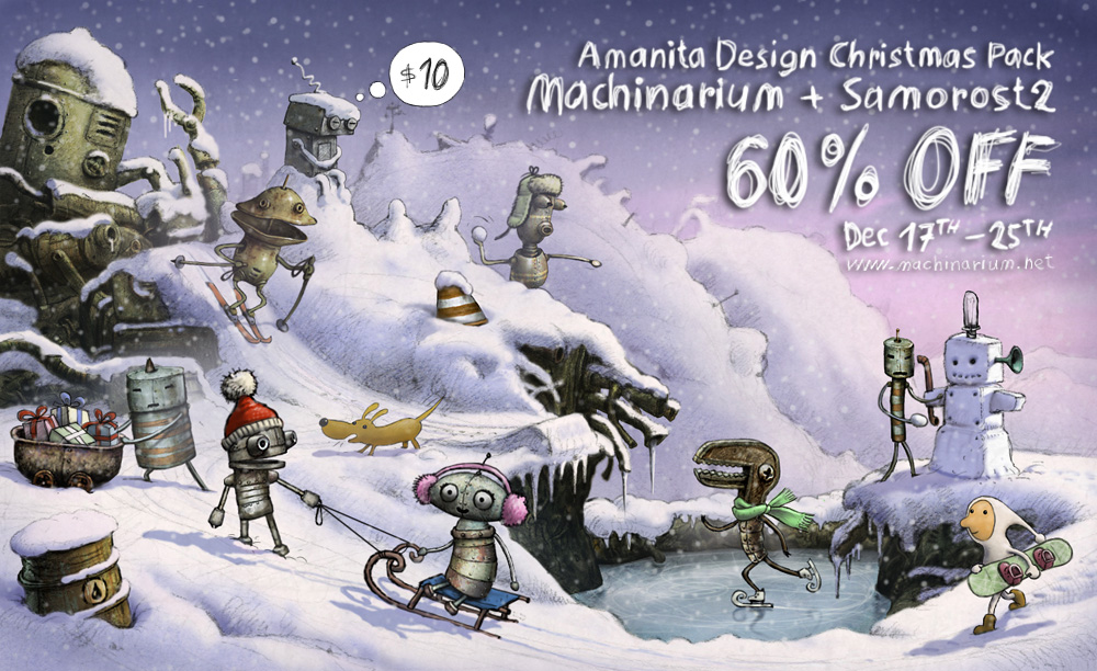 Machinarium Christmas Pack