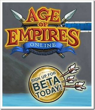 Age of Empires Online - BETA SIGN UP