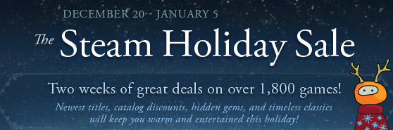 Steam Holiday Sale Launch Day