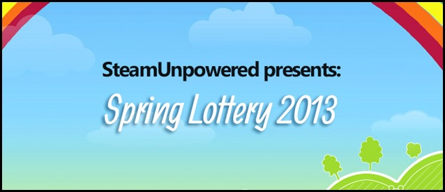 Spring Lottery 2013
