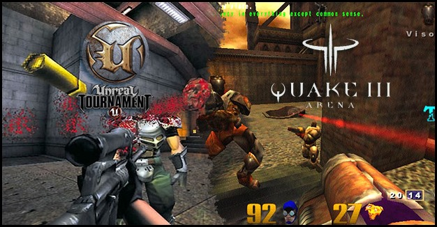 Unreal vs Quake