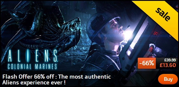 Aliens Colonial Marines on Sale