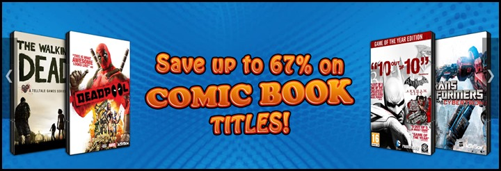 Comic Book Sale!