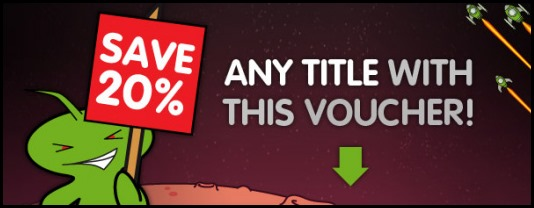 GMG 20% off