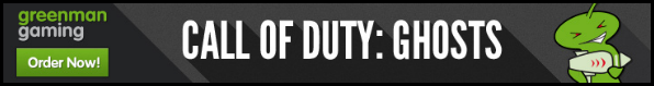 COD Ghosts 25% off!