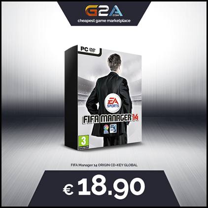 FIFA MANAGER 14 SALE