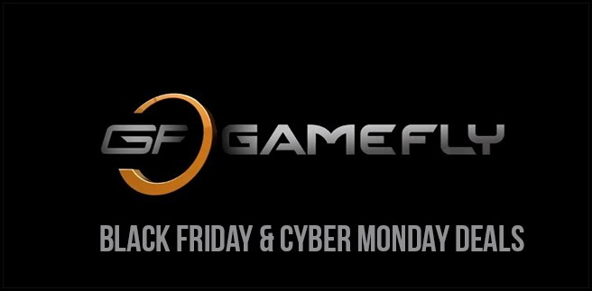 GameFly Black Friday and Cyber Monday Deals Listed