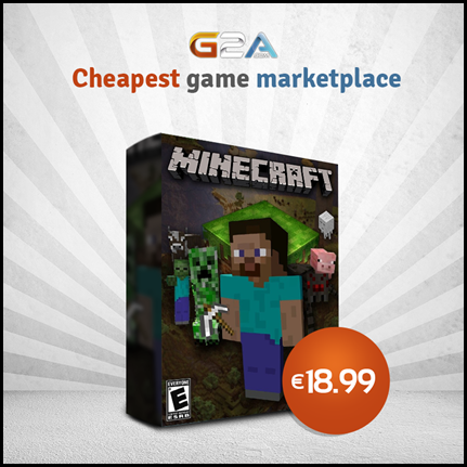 Minecraft for 18,99€ / $25.62 | Steam Unpowered