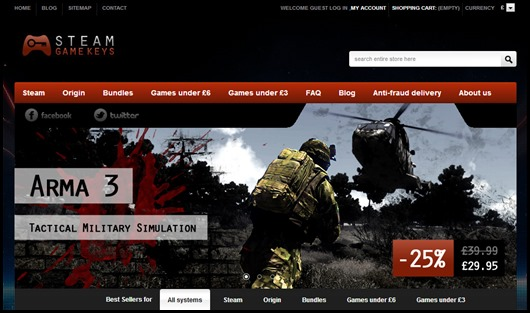 arma 3 cheap steam key