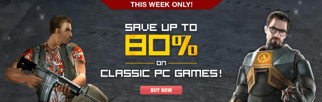 Classic Games up to 80% off