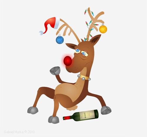 Drunk Rudolph