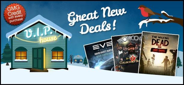 GMG Winter Deals