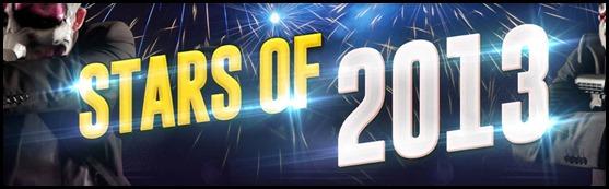 Stars of 2013