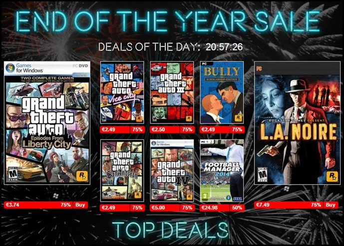 End of the Year Sale