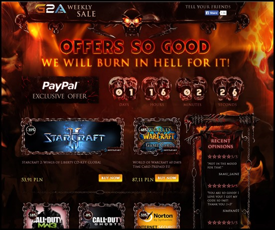 HELL OFFERS