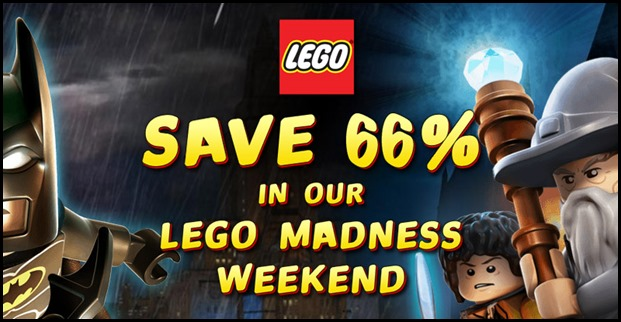 Lego Madness 66off GameFly