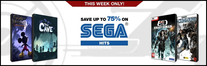 SEGA DEALS ON GAMEFLY