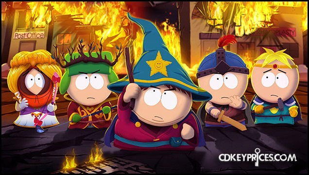 South Park Giveaway on CDKeyPrices