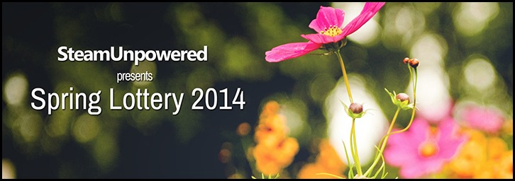 Spring Lottery 2014 Is now live!