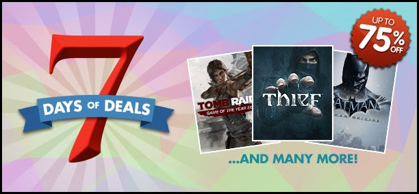7 Days of Deals