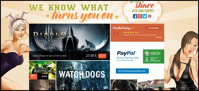 G2A We Know What Turns You On Sale