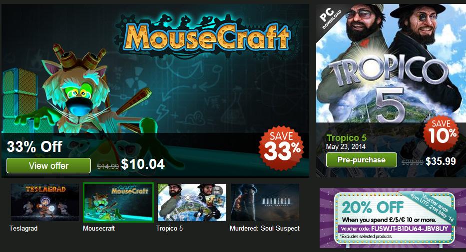 Green Man Gaming Deals