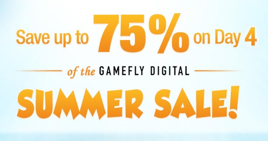 Summer Sale Day 4 on GameFly Steam Games Cheap