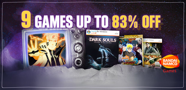Namco Bandai games sale on GamesPlanet