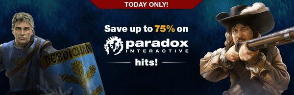 Paradox One Day Sale on GameFly