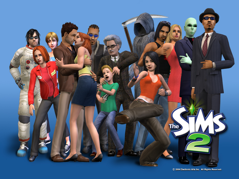 The Sims 2 was a favorite of the Videogame-Hating Girlfriend. Games Done Legit stopped hating videogames