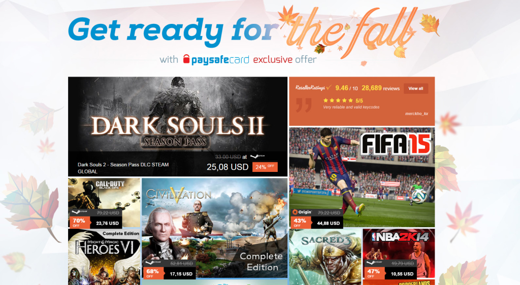 G2A Get Ready For The Fall