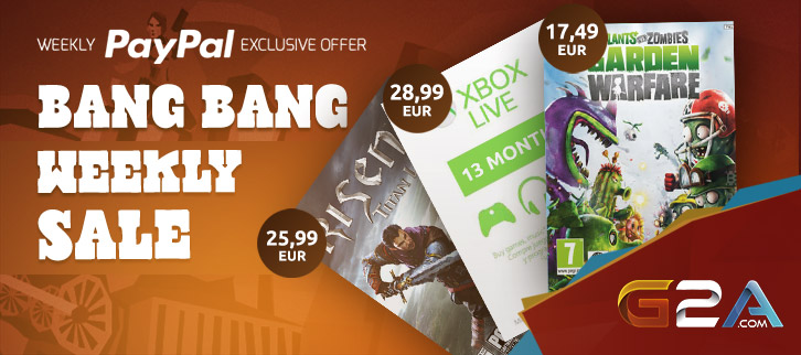 G2A Weekly Sale BANG BANG