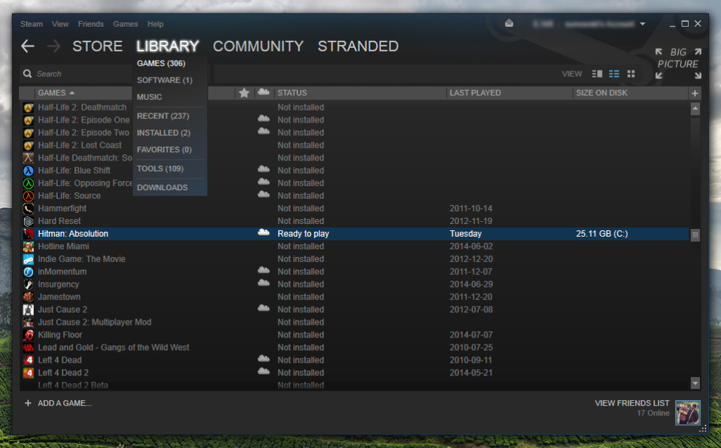 New UI Steam