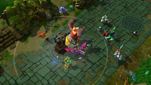 Strife the new MOBA