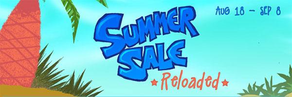 Summer Sale Reloaded on GamersGate