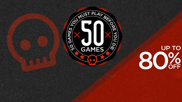 Top 50 Games up to 80 off