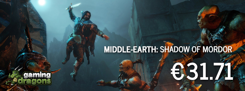Middle-Earth Shadow Of Mordor for €31.71