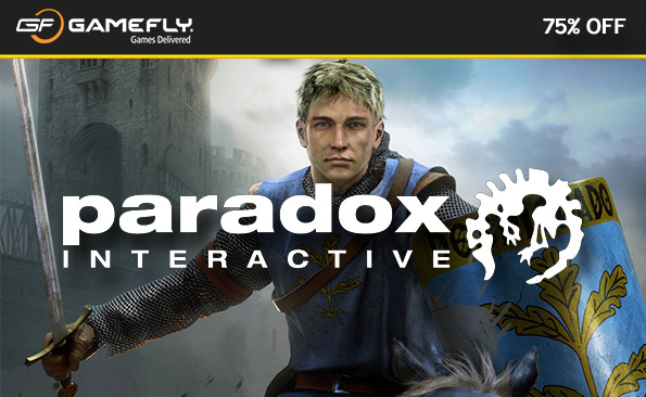 Paradox Interactive sale on GameFly UK