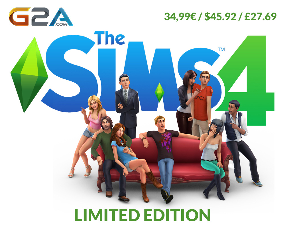SIMS 4 on G2A PREORDER NOW!