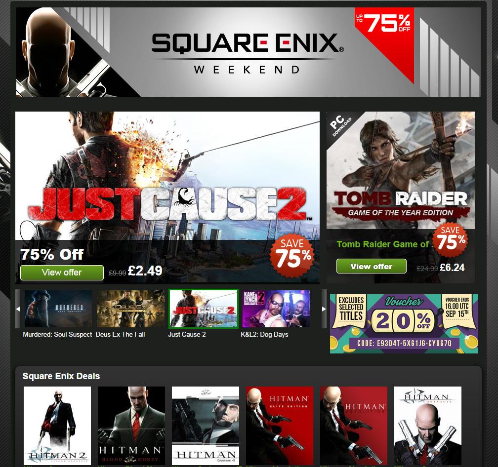 Square Enix Deals
