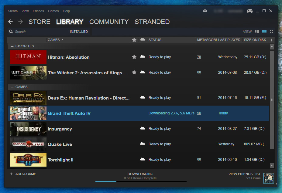 Steam client updated as well