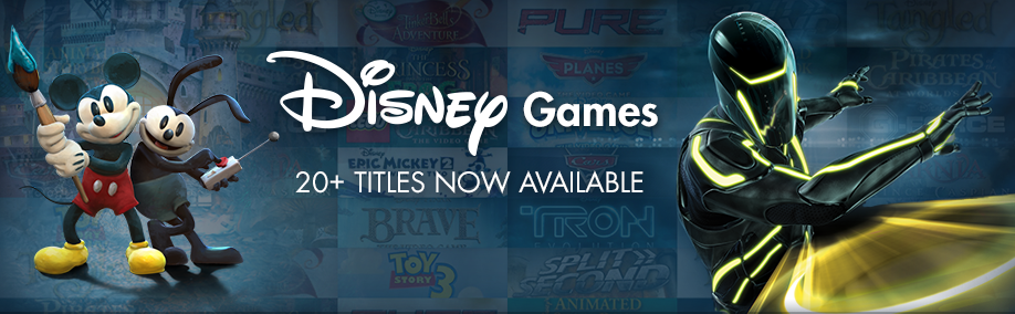 Disney Games on Steam