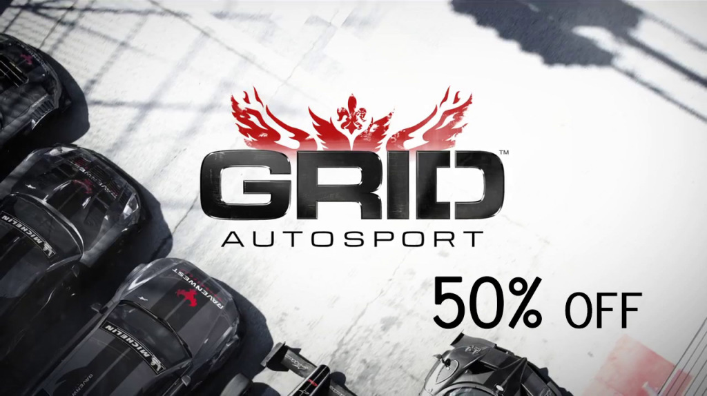 GRID Autosport GMG Steam redeemable key 50 percent off