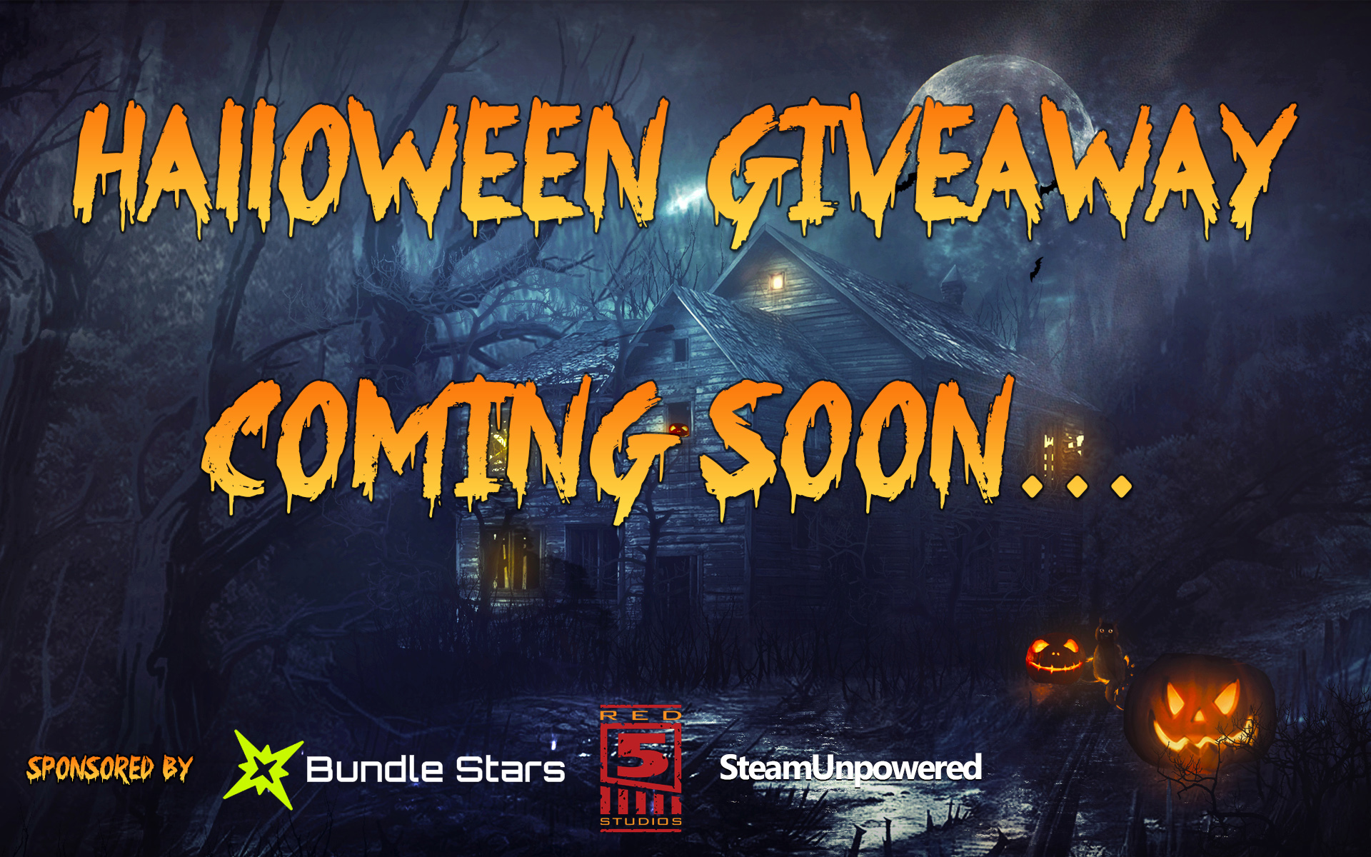 Halloween Giveaway Coming Soon... | Steam Unpowered