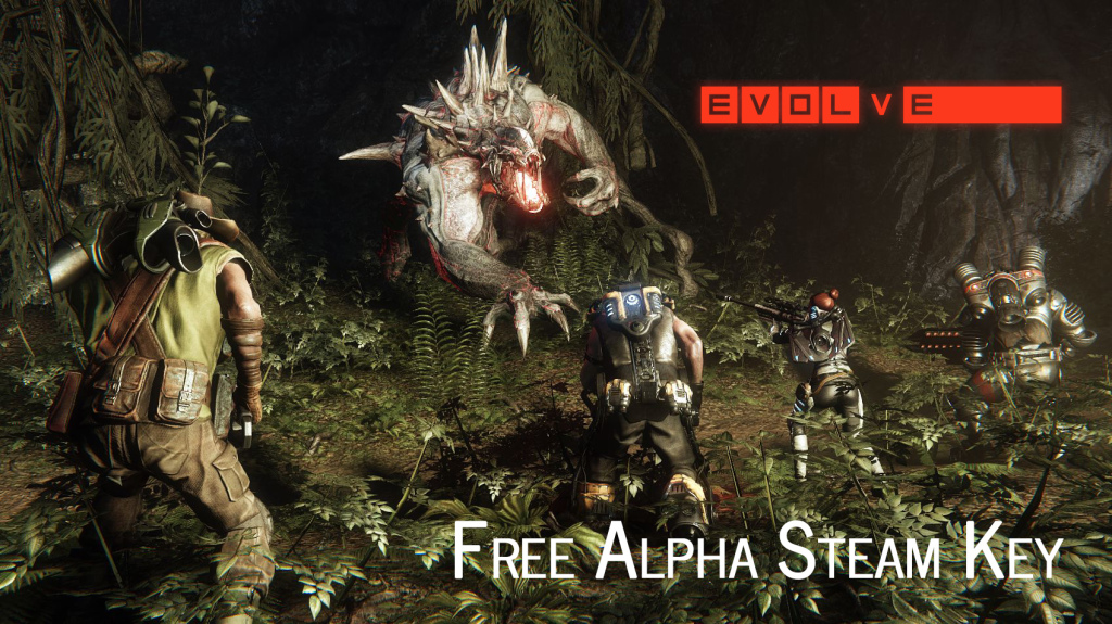 Free Alpha Steam Key EVOLVE