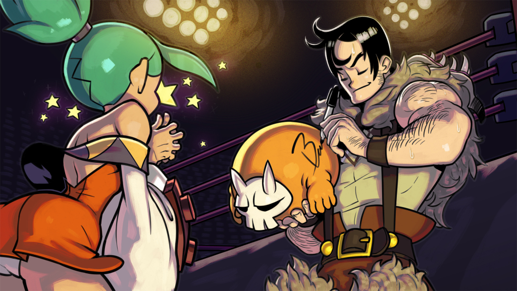 Skullgirls deal on GMG Steam redeemable game