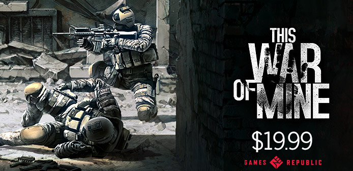 This War of Mine 19 USD Steam redeemable
